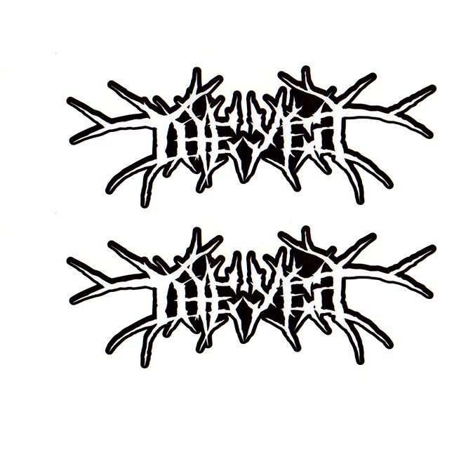 "Image of 7"" Death Metal Stickers"