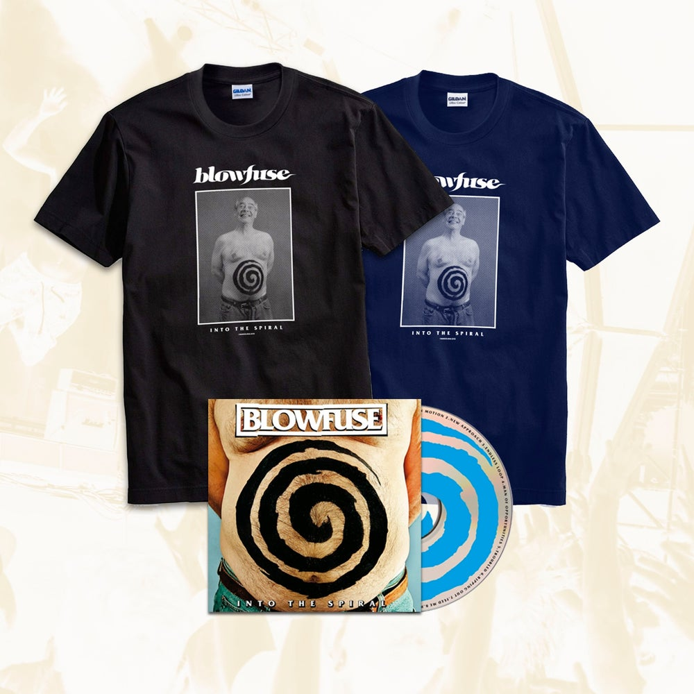 Image of PACK 'Into The Spiral' CD + 'Dad' T-Shirt