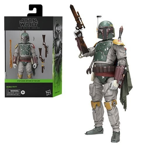 Image of Star Wars The Black Series Boba Fett Deluxe Action Figure