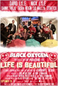 "Image of BLACK OXYGEN ""LIFE IS BEAUTIFUL"" MOVIE POSTER"