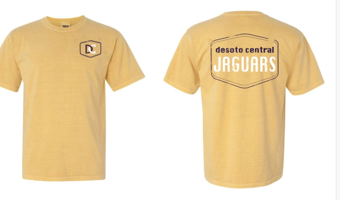 Image of Desoto Central Jaguars DC STAMP design Tee