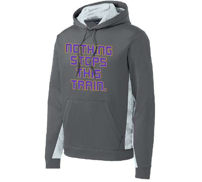 "Image of ""NOTHING STOPS THIS TRAIN"" Digital Camo Hoodie"