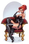 Red Dark Queen Print