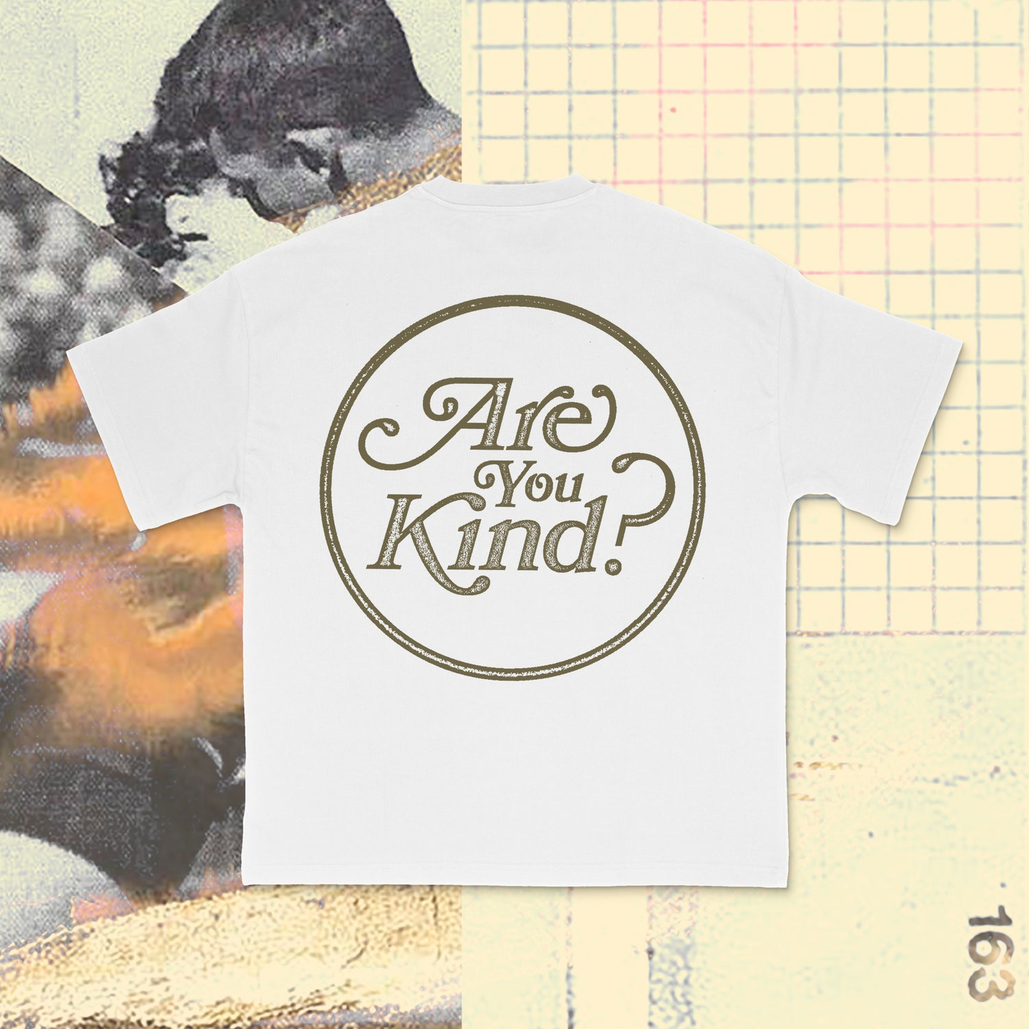 Image of Road Worn: Are You Kind Tee? - White