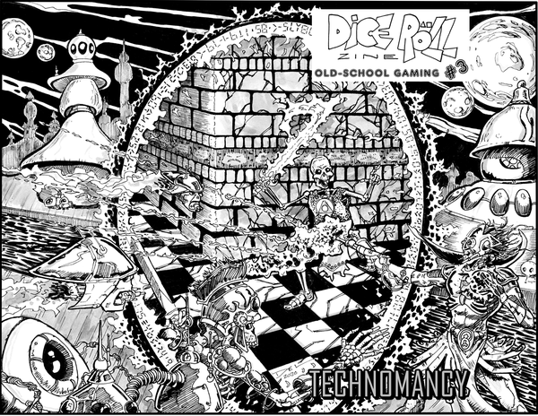 Image of Dice Roll Zine #3 (Digest size)