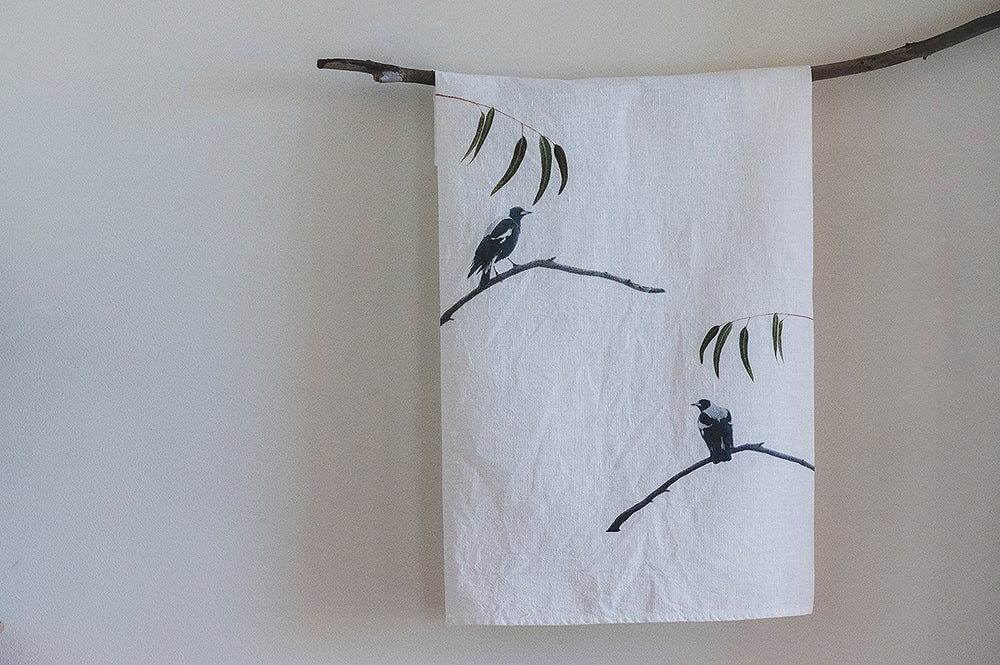 Image of Birds of a feather Tea Towels