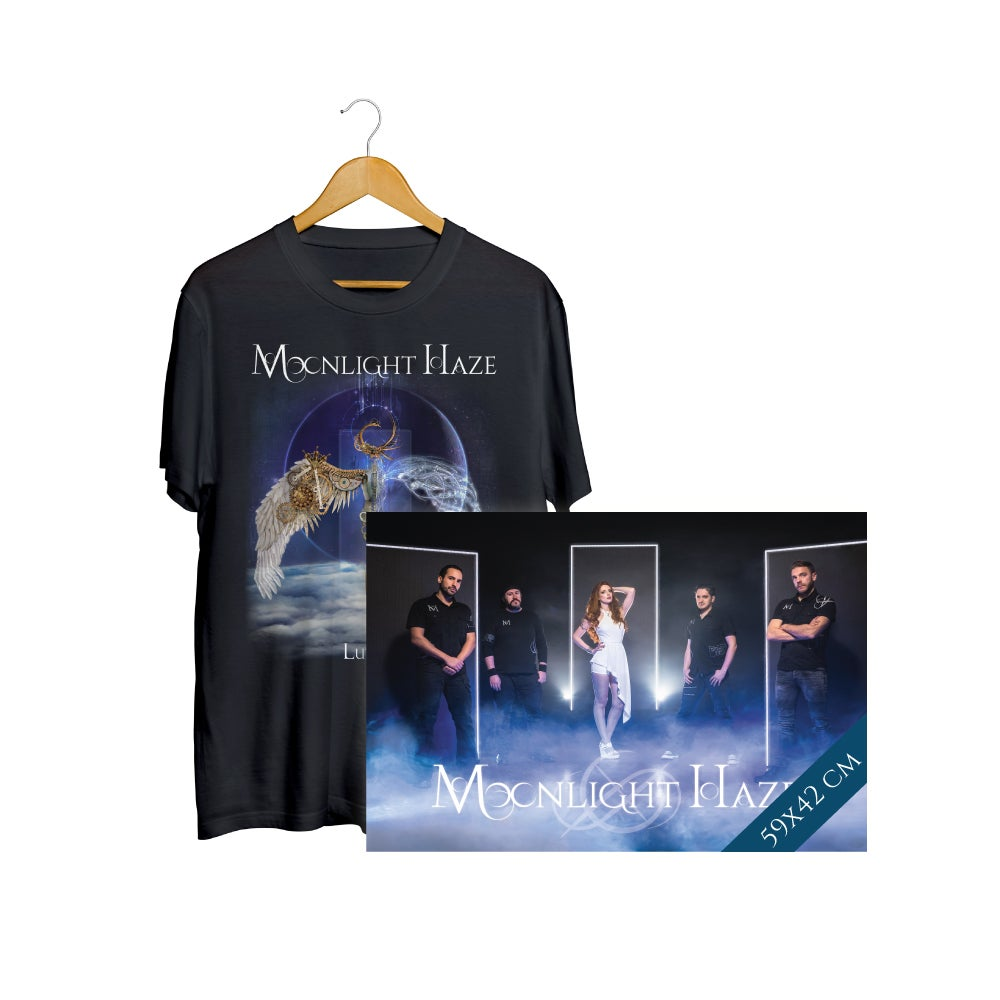Image of LUNARIS T-Shirt + Poster Bundle