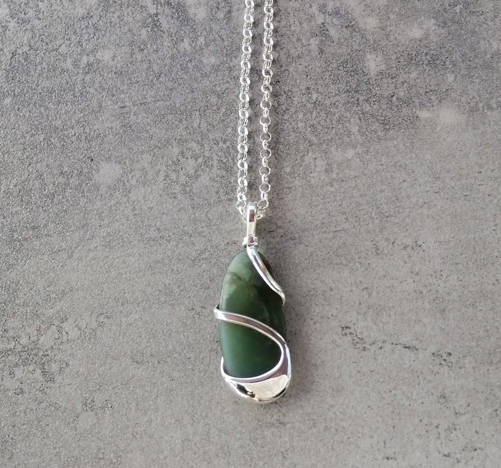 Image of One of a kind Pounamu necklace
