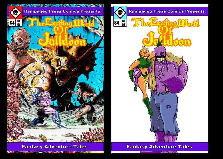 Image of TEWOJ Comics Issue #1 & #2 Set