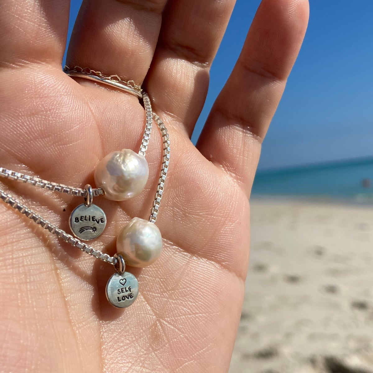 Image of Big pearl necklace