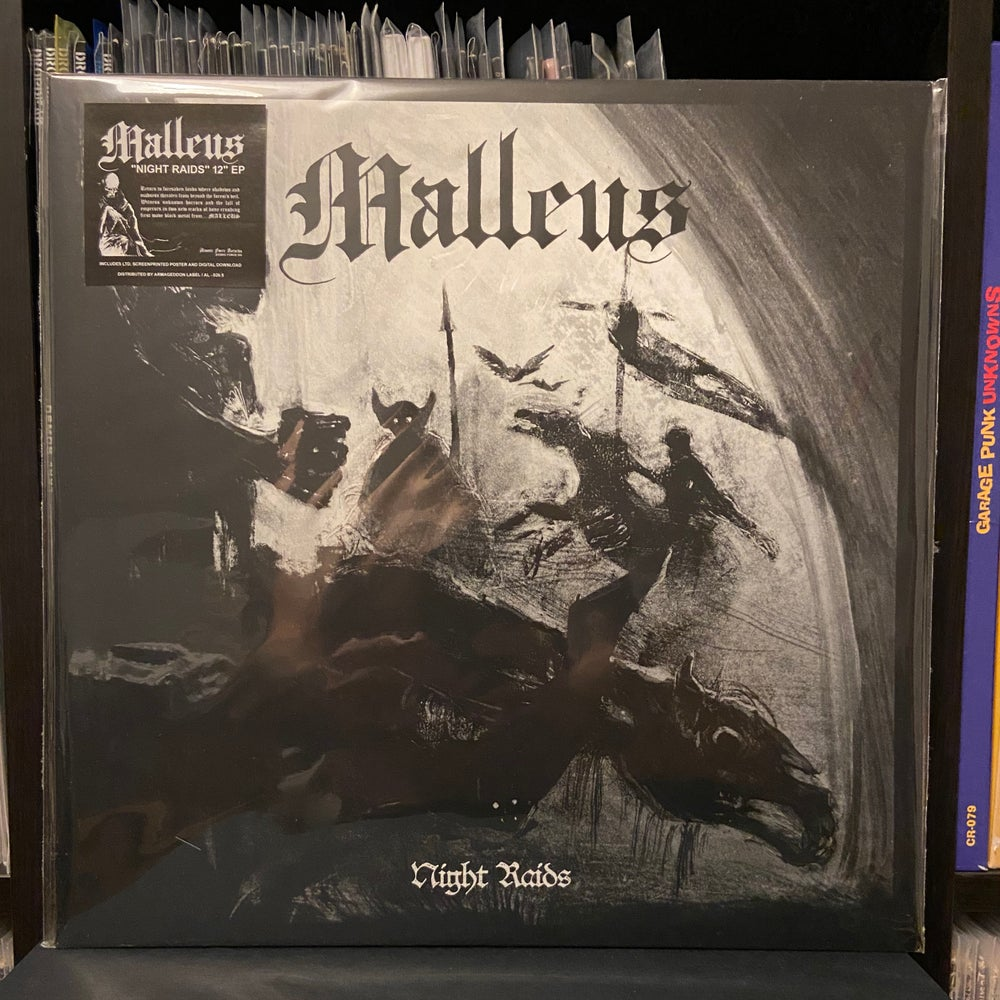 "MALLEUS ""Night Raids"" LP + Poster"