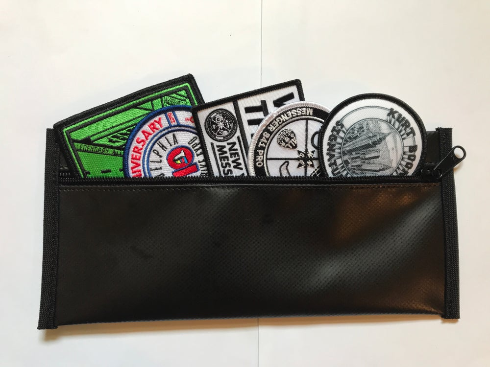 Image of Messenger 841 Patches & DeMartini Utility Pouch