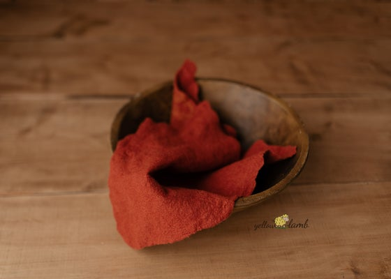 Image of Felted blanket - ready to ship