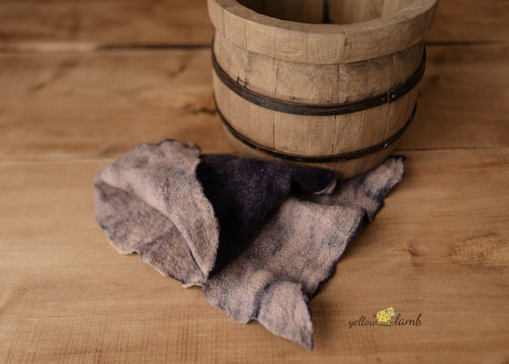Image of Ready to ship - hand felted blanket