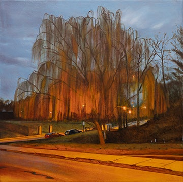 Image of Willow Tree in Gorgas Park (Pandemic Painting), 2020