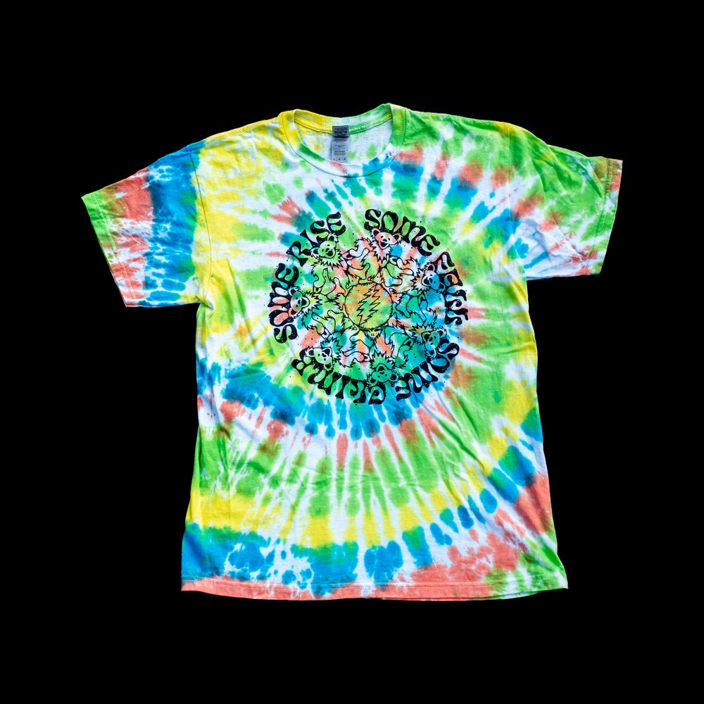 Image of PRE-ORDER // Hand-Dyed Terrapin Owsley Stealie Bootleg Adult Tee