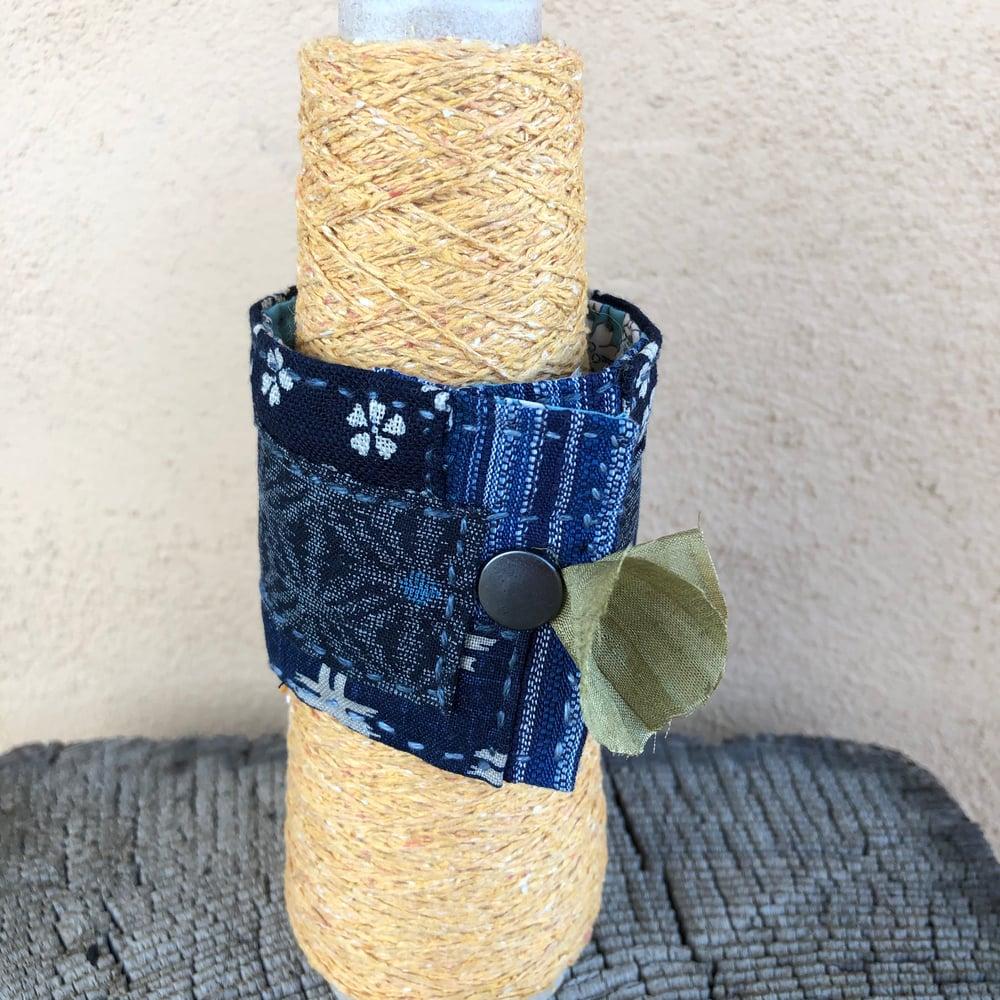Image of Turquoise Concha Wrist Cuff