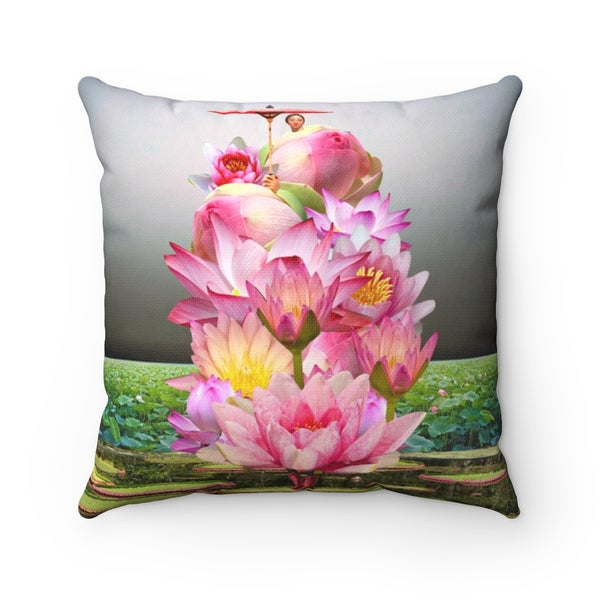 Image of Plate No.239 Throw Pillow