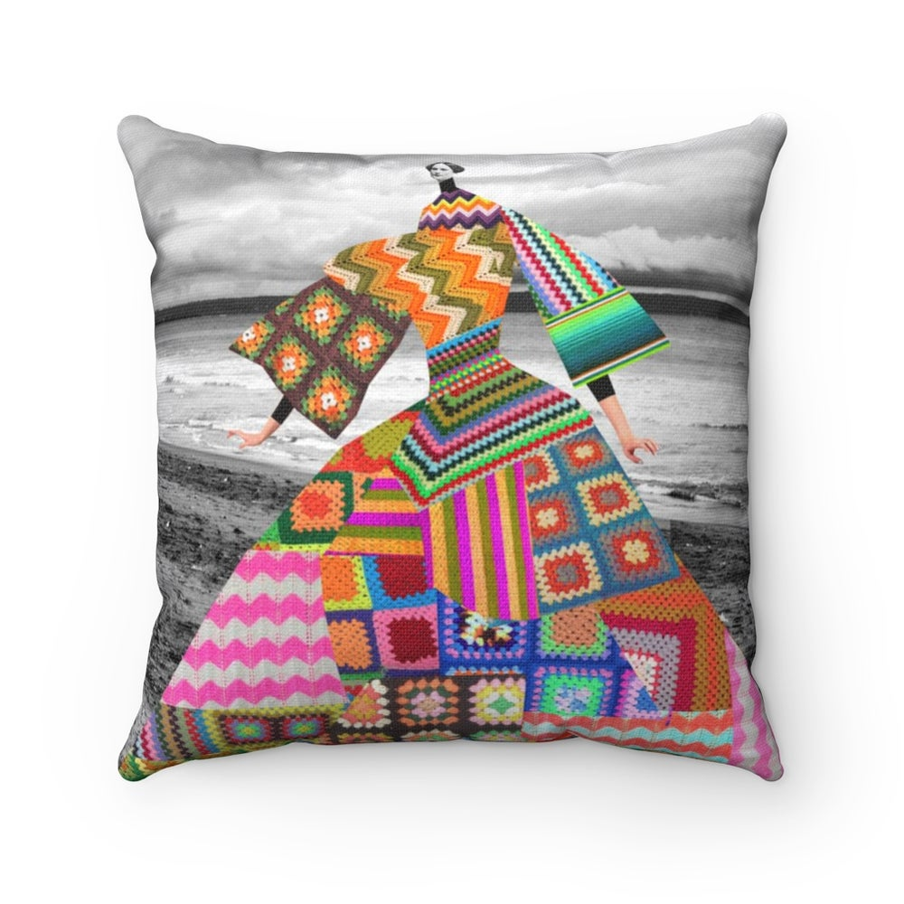 Image of Plate No.37 Throw pillow