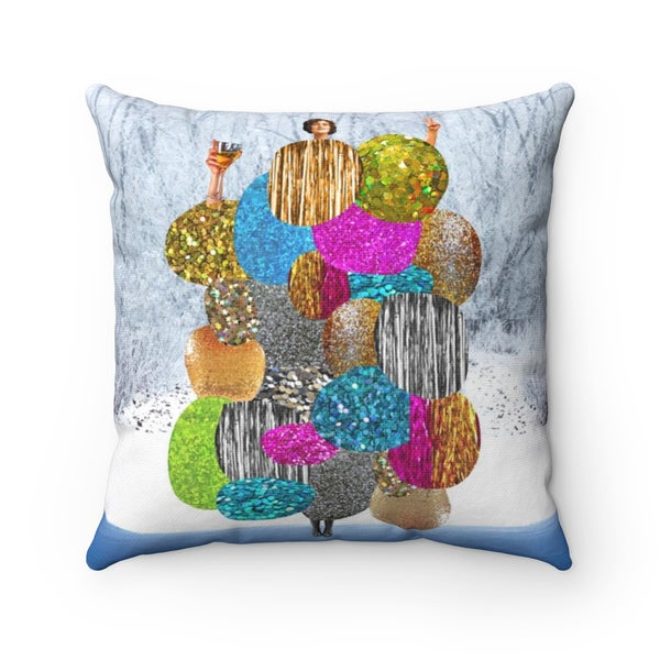Image of Plate No.142 Throw Pillow
