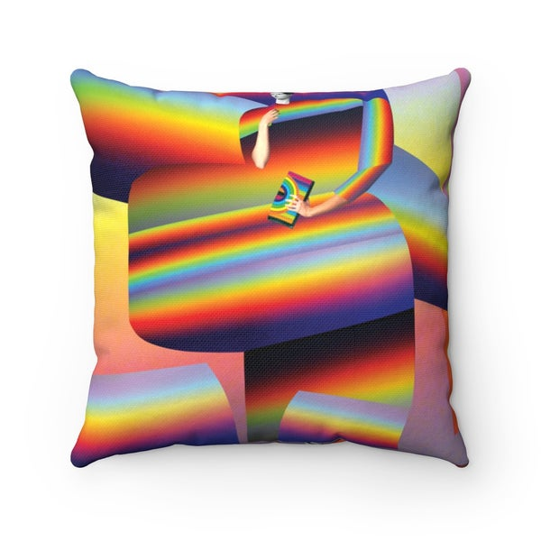 Image of Plate No.62 Throw Pillow
