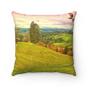 Image of Plate No.48 Throw Pillow