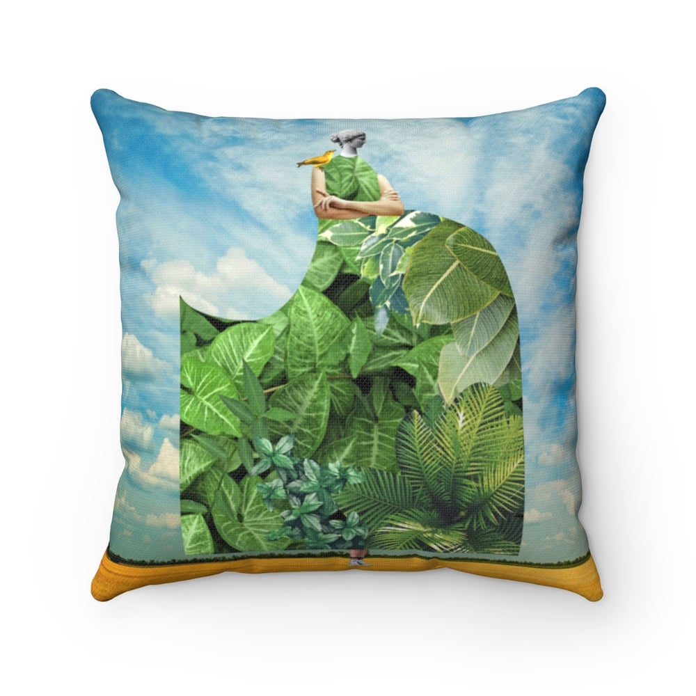 Image of Plate No.388 Throw Pillow