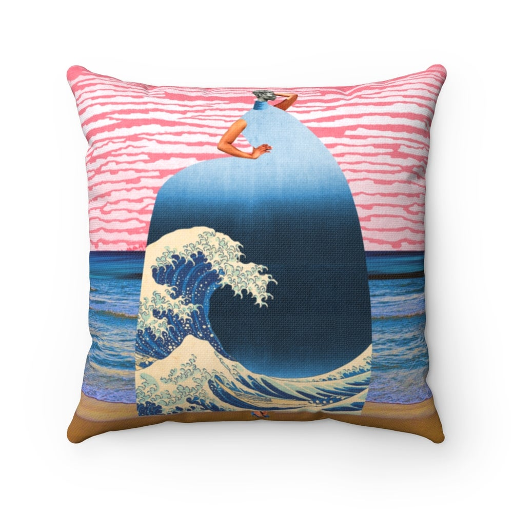 Image of Plate No.209 Throw Pillow