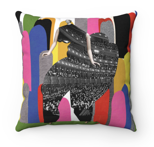 Image of Plate No.99 Throw Pillow