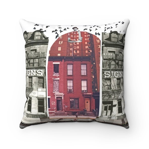 Image of Plate No.195 Throw Pillow
