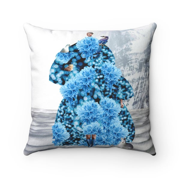 Image of Plate No.79 Throw Pillow