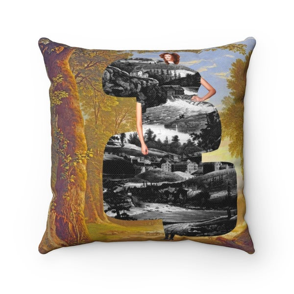 Image of Plate No.181 Throw Pillow