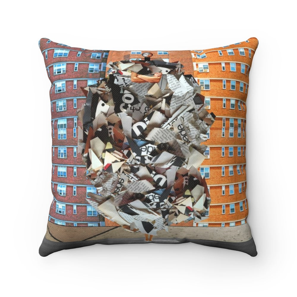Image of Plate No.81 Throw Pillow