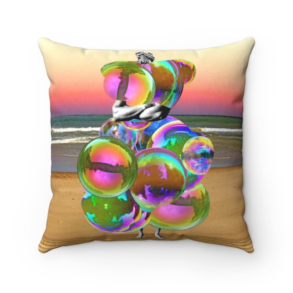 Image of Plate No.124 Throw Pillow