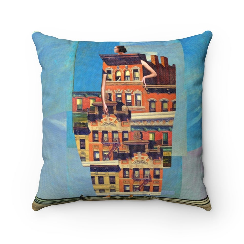 Image of Plate No.185 Throw Pillow