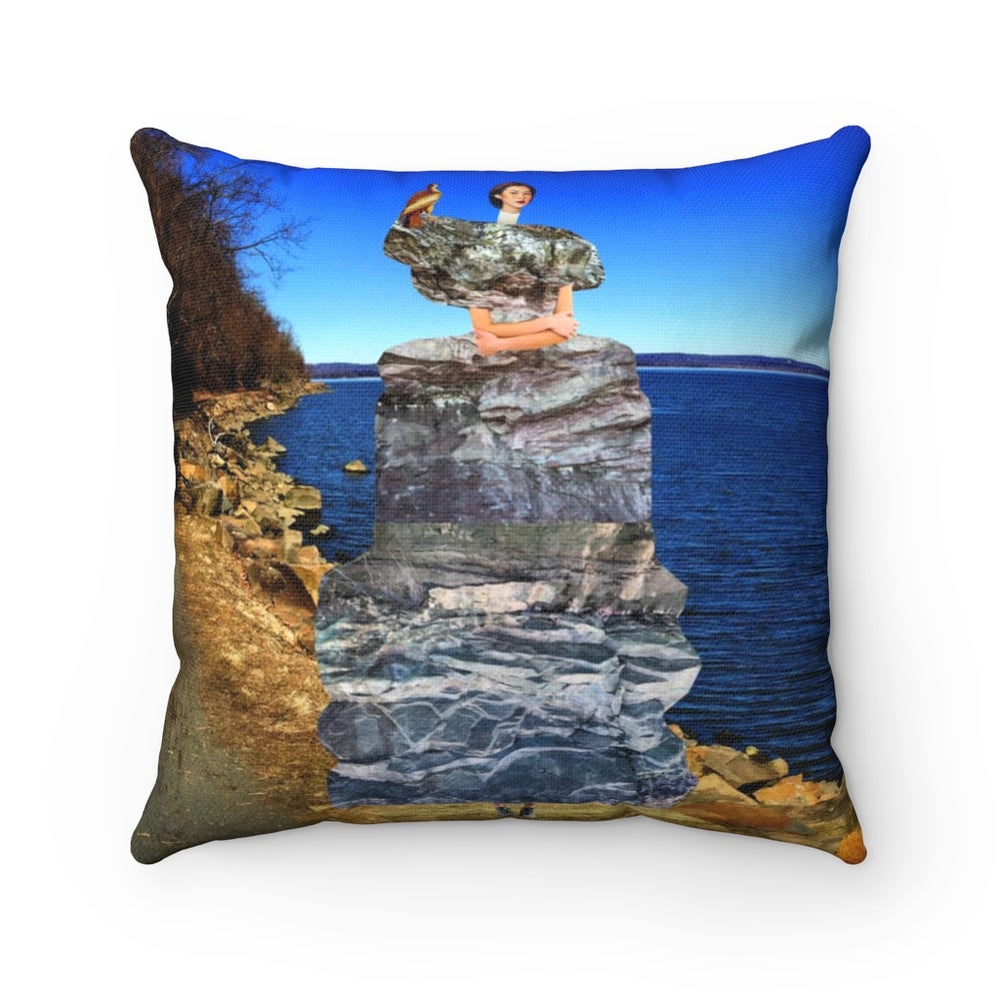 Image of Plate No.320 Throw Pillow