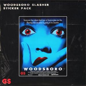 Image of Return to Woodsboro Slasher Sticker Pack