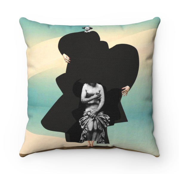 Image of Plate No.28 Throw Pillow