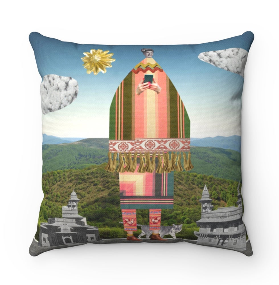Image of Plate No.11 Throw Pillow