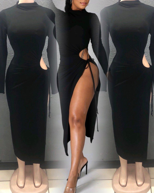 Image of Pam Slit Dress