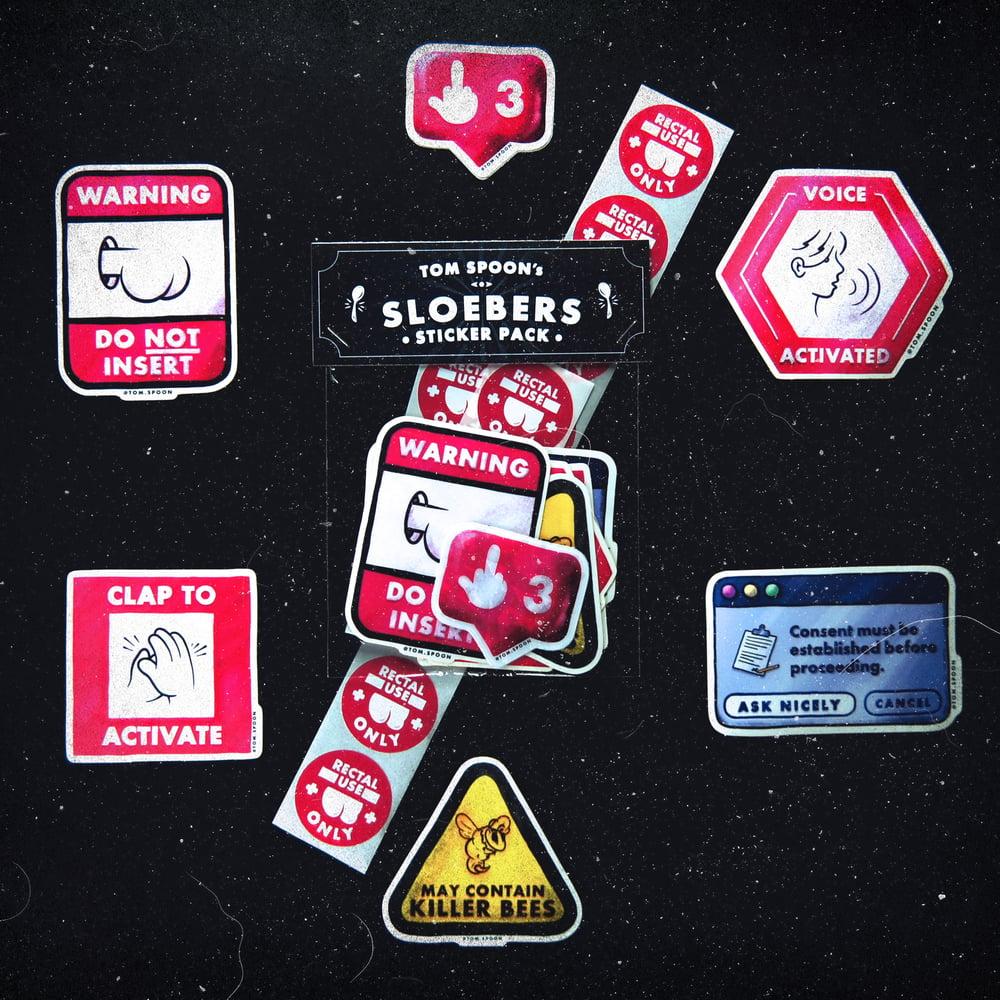 Image of Tom Spoon's Sloeber Sticker Pack