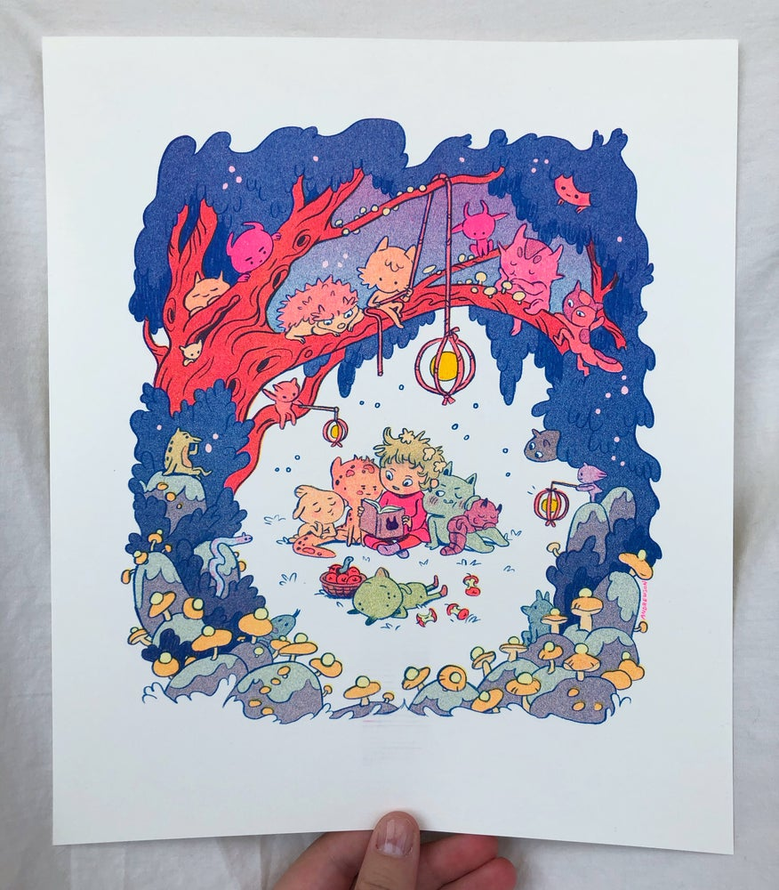 Image of Bedtime Story Print