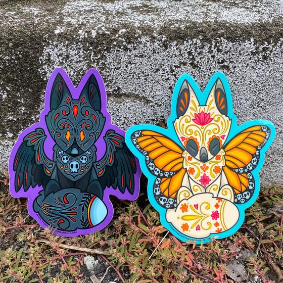 Image of Angel of Life/Death Sticker Set
