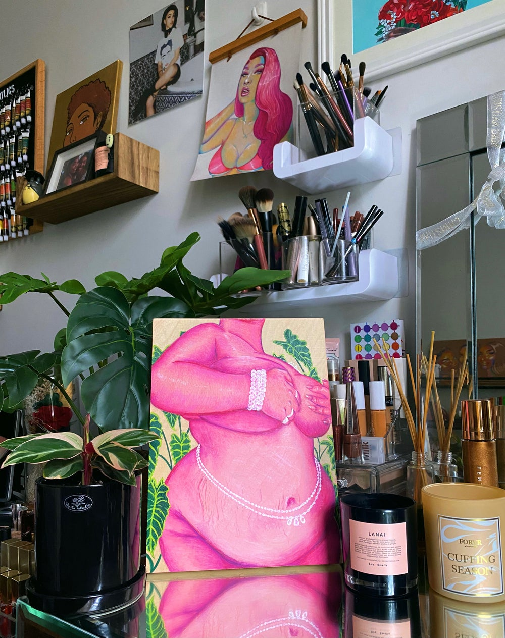 The Colors of Self Love: Monochromatic Pink