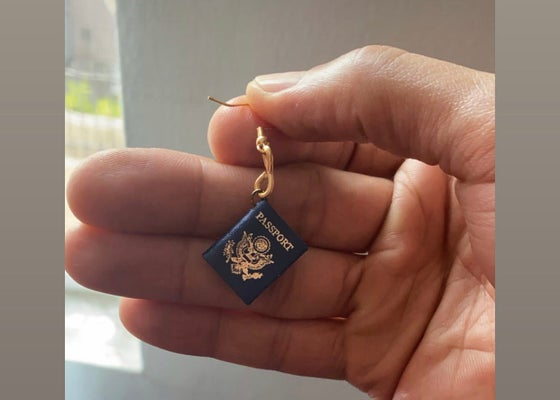 Image of Passport Earring