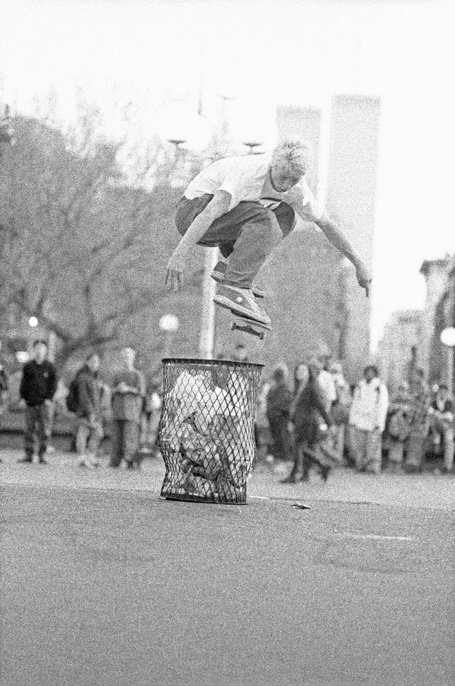 Keith Hufnagel, Washington Square park 1993 by Tobin Yelland
