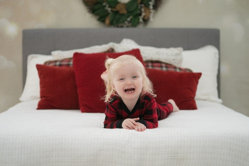 Image of Wednesday Nov 11 - Children's Mini -  Inside Xmas Bed Setup & Baking Setup