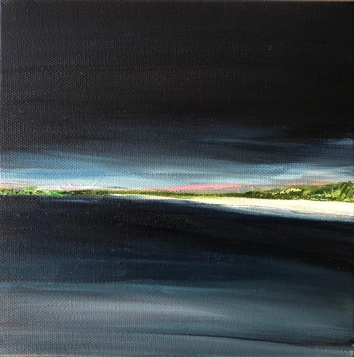 Image of Indigo Sky 2020. Oil on canvas