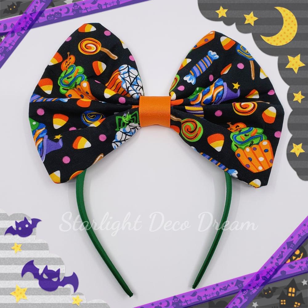 Image of 20% OFF ! Sweet n Spooky Halloween Headband Hair Bow