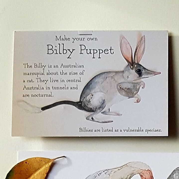 Image of Bilby Puppet.